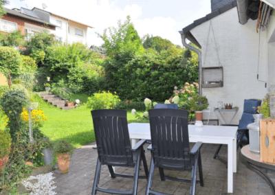 Herdecke-Sonnenstein Terrasse und Garten