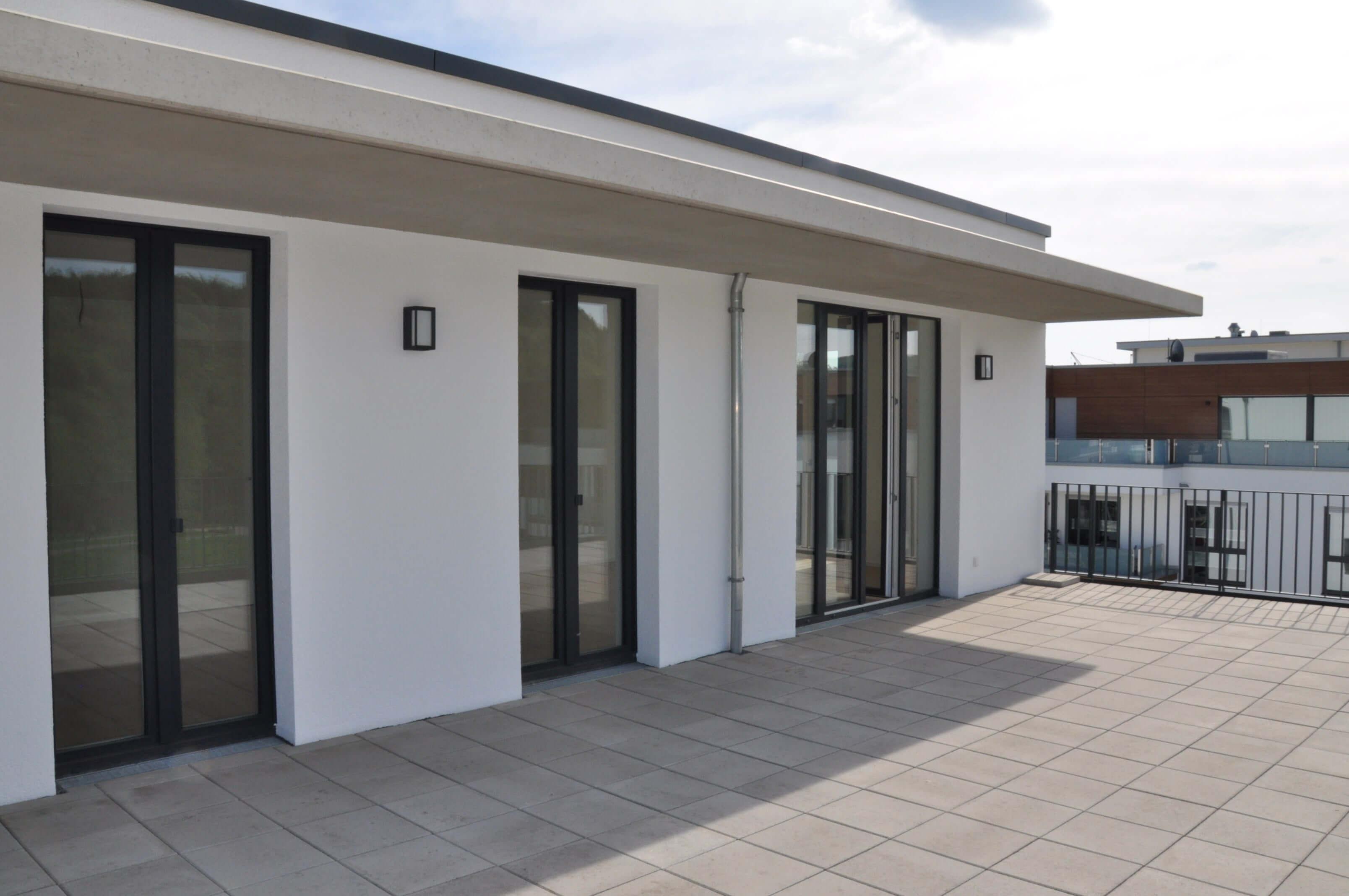 Barrierefreie Penthousewohnung mit Ruhrblick