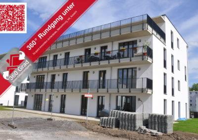 Immobilienrundgang Mietwohnung mit Aussicht