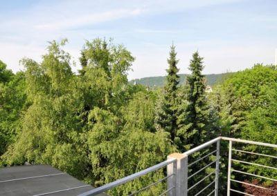 Blick vom Balkon - Maisonette Nähe Innenstadt Herdecke
