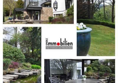 Großer Garten mit Aussicht | Herdecke-Herrentisch Bungalow - Black and White - mit tollem Grundstück