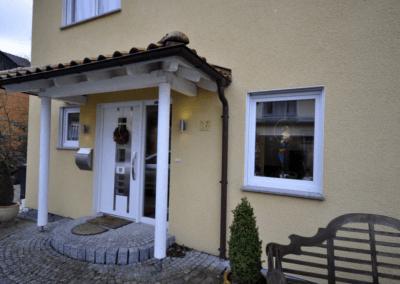 Hagen-Selbecke, Stadtvilla Eingang