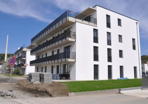 Barrierefreie Wohnung im Erdgeschoss mit Terrasse und Garten