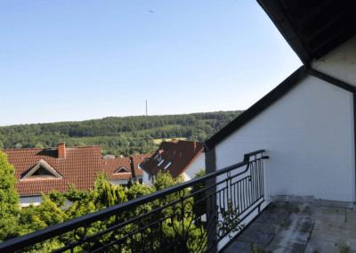 Balkon mit Aussicht | Herdecke-Kirchende Raumwunder mit Aussicht über Westende