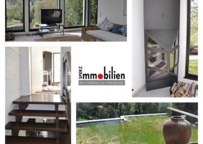 Lounge | Herdecke-Herrentisch Bungalow - Black and White - mit tollem Grundstück