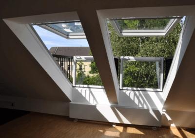 Sonnenfenster | Modernisierte Dachgeschosswohnung in Wetter