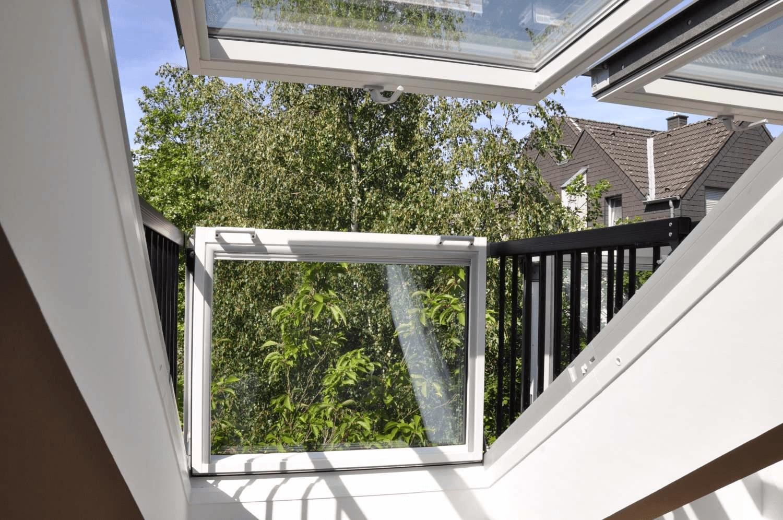 Modernisierte 2-Zimmer-Dachgeschosswohnung