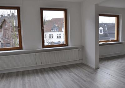 Wohn-/Esszimmer | Renovierte Altbauwohnung in Wetter