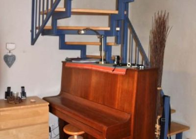 Aufgang ins Obergeschoss Reihenmittelhaus Herdecke-Westende