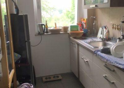 möblierte Küche | Teilmöblierte kleine Wohnung in attraktiver Lage