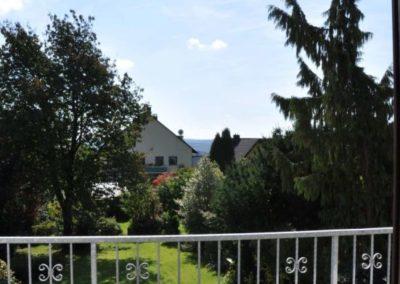 Gartenblick vom Wohnzimmer