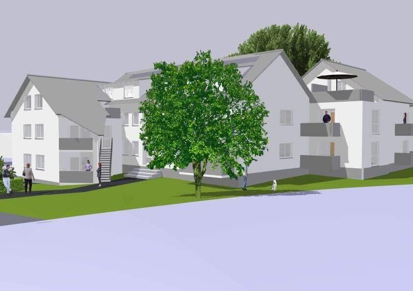 Attraktive Neubauwohnungen in Wermelskirchen-Hünger