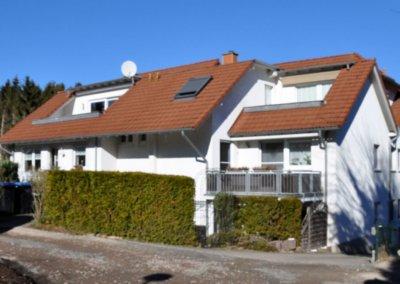 Aussenansicht von Eigentumswohnung mit Terrasse in Wetter