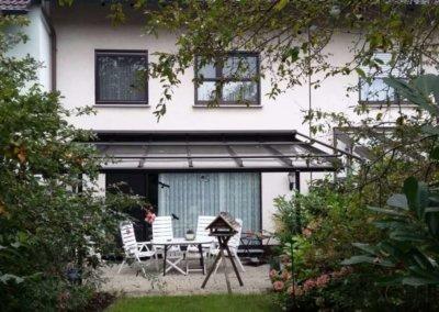Gartenansicht von großzügigem Reihenmittelhaus mit Garage in Herdecke-Westende