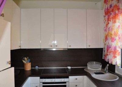Küche von komplett eingerichteter Wohnung in Herdecke-Westende