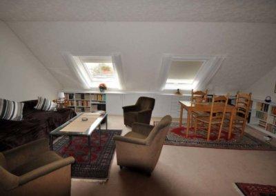 Wohnzimmer DG von großzügigem Reihenmittelhaus mit Garage in Herdecke-Westende