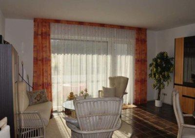 Wohnzimmer von komplett eingerichteter Wohnung in Herdecke-Westende