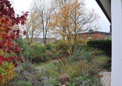 Garten mit viel Grün von freistehendem Wohnhaus in Selm-Bork