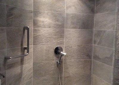 Renoviertes Badezimmer von freistehendem Wohnhaus in Selm-Bork