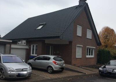 Strassenansicht von freistehendem Wohnhaus in Selm-Bork