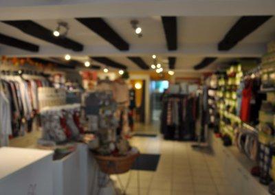 Verkaufsraum von ansprechendem Ladenlokal in der Altstadt von Herdecke