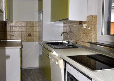 Küche von gemütlicher und ruhiger Wohnung in Hagen-Vorhalle