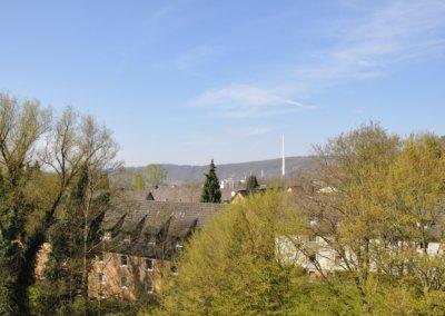 Über den Dächern von Herdecke - Blick vom Balkon