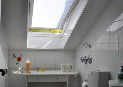 Über den Dächern von Herdecke - Badezimmer