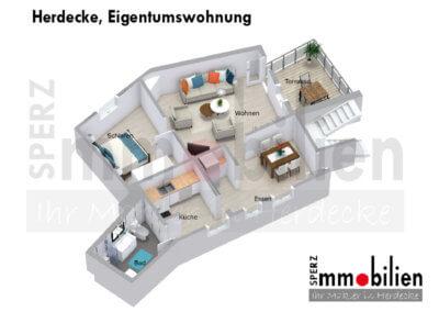 Herdecke, Eigentumswohnung Grundrisse (2)