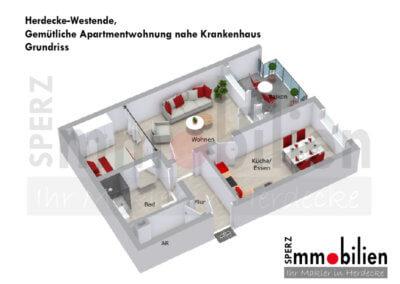 Grundriss Gemütliche Apartmentwohnung nahe Krankenhaus (2)